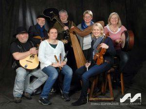 """Irish-Folk-Konzert mit der Band """"among friends"""" Samstag, 29.02.2020, 19:30 Uhr"""