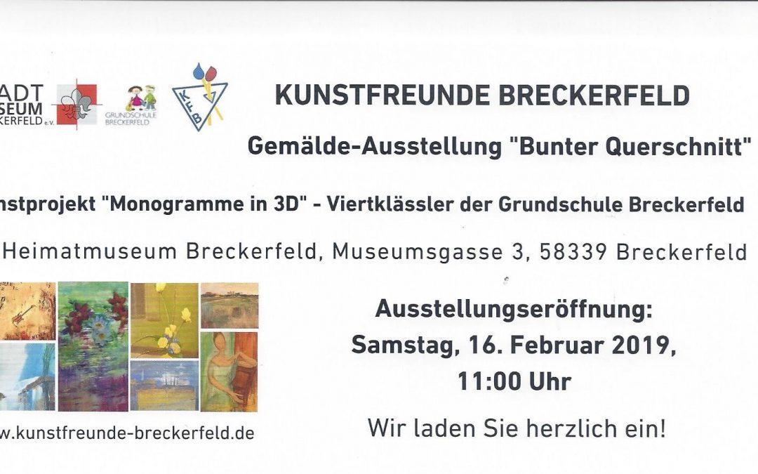 """Gemälde-Ausstellung """"Bunter Querschnitt"""""""